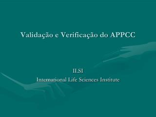 Validação e Verificação do APPCC