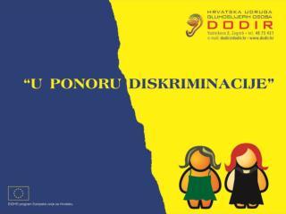 Ivona Salaj ,  voditeljica  projekata Hrvatske udruge gluhoslijepih osoba D odir