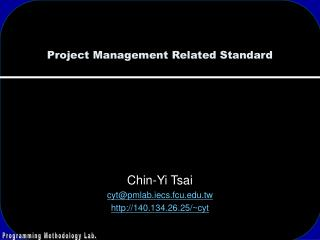 Project Management Related Standard