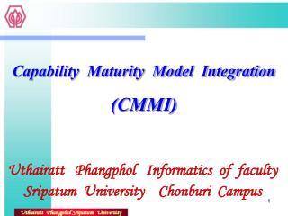 Uthairatt   Phangphol   Informatics  of  faculty Sripatum  University    Chonburi  Campus