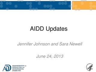AIDD Updates