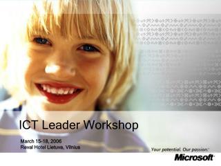 ICT Leader Workshop