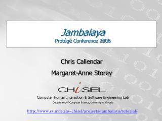 Jambalaya Protégé Conference 2006