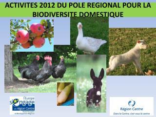 ACTIVITES 2012 DU POLE REGIONAL POUR LA BIODIVERSITE DOMESTIQUE