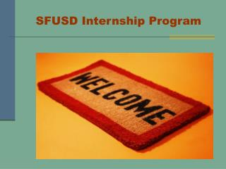 SFUSD Internship Program
