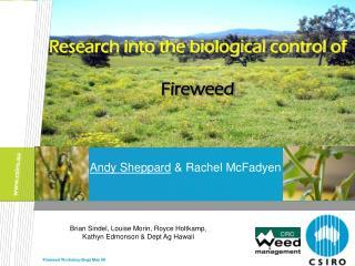 Andy Sheppard  & Rachel McFadyen