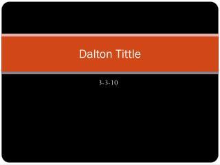 Dalton Tittle