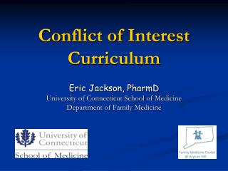 Conflict  of Interest Curriculum