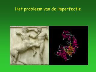 Het probleem van de imperfectie