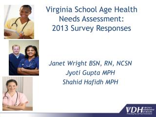 Virginia School Age Health Needs Assessment:  2013 Survey Responses