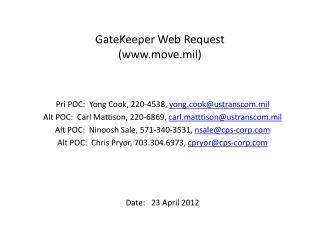 GateKeeper Web Request  (move.mil)