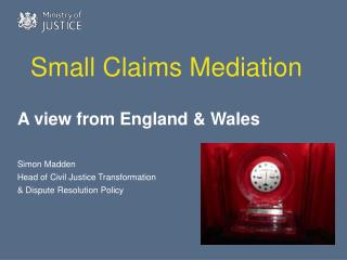 Small Claims Mediation