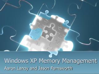 Windows XP Memory Management