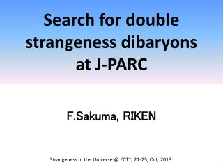 Search for double strangeness dibaryons at J-PARC