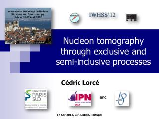 Nucleon tomography through exclusive and semi-inclusive processes