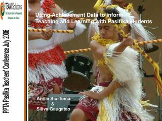 PPTA Pasifika Teachers' Conference July 2006