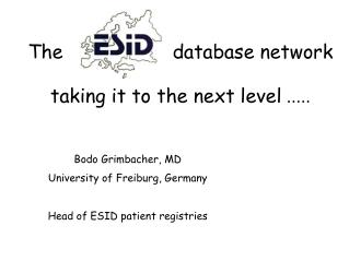 The                   database network taking it to the next level  .....