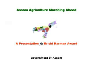 Assam Agriculture Marching Ahead