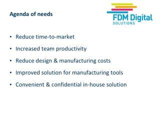 Agenda of needs
