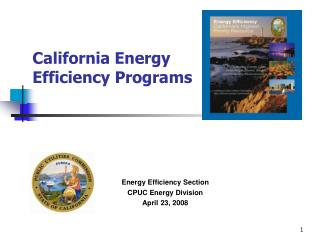 California Energy Efficiency Programs