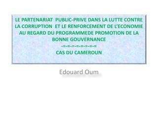 Edouard Oum