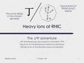 Heavy ions at RHIC