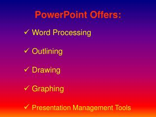 PowerPoint Offers: