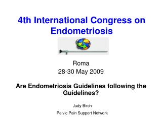 4th International Congress on  Endometriosis