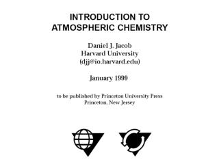 CHAPTER 1 Measures of Atmospheric Composition