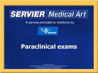 Paraclinical exams