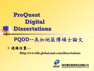 ProQuest         Digital Dissertations