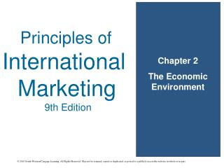 Chapter 2 The Economic Environment