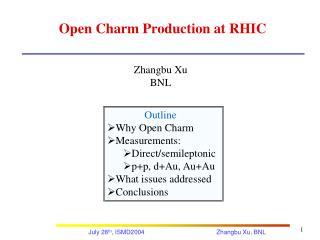 Open Charm Production at RHIC