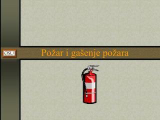 Požar i gašenje požara