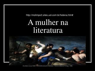 A mulher na literatura