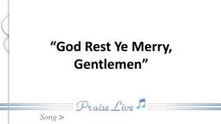 """God Rest Ye Merry, Gentlemen"""