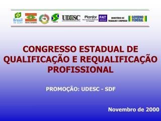 CONGRESSO ESTADUAL DE QUALIFICAÇÃO E REQUALIFICAÇÃO PROFISSIONAL