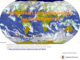Atmosfääri tsirkulatsioon ja tuultesüsteemid