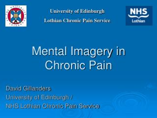 Mental Imagery in Chronic Pain
