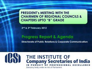 Directorateof Public Relations & Corporate Communication