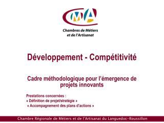 Développement - Compétitivité