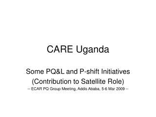 CARE Uganda