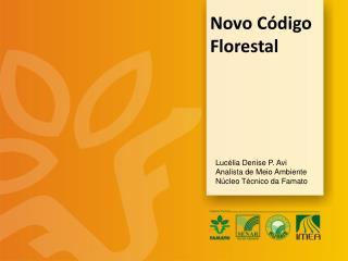 Novo C�digo Florestal