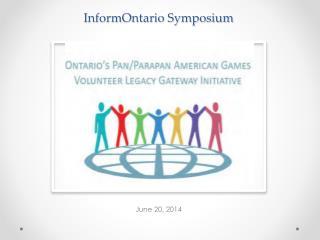 InformOntario Symposium