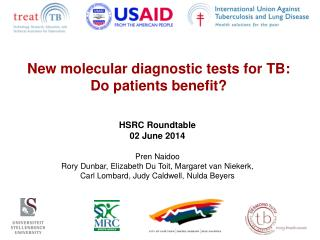 New molecular diagnostic tests for TB:  Do patients benefit?