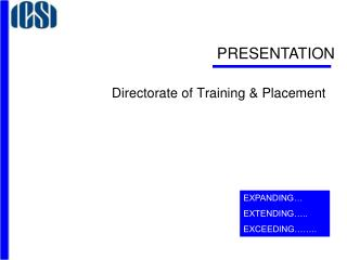 Directorate of Training & Placement