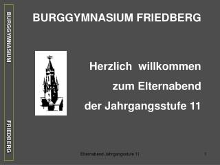 BURGGYMNASIUM                                      FRIEDBERG