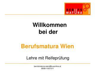 Berufsmatura Wien