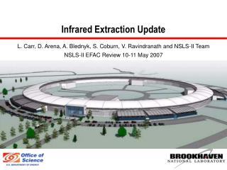 Infrared Extraction Update