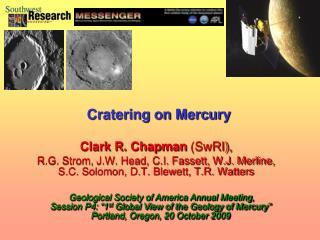Clark R. Chapman  (SwRI),